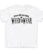 Weed To Wear Higher, Mens Crew Neck Tee