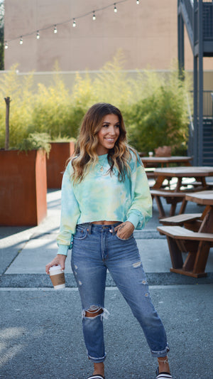 Dance In The Sunshine Cropped Sweater