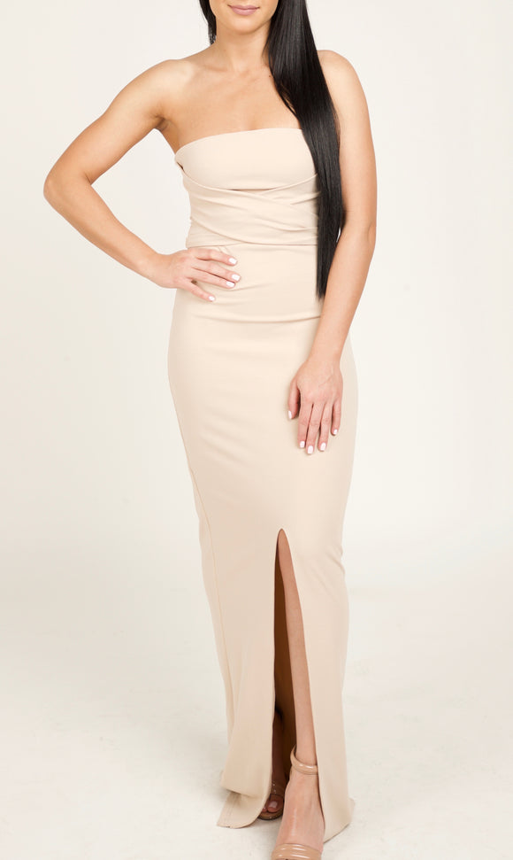 Evening Gown in Blush