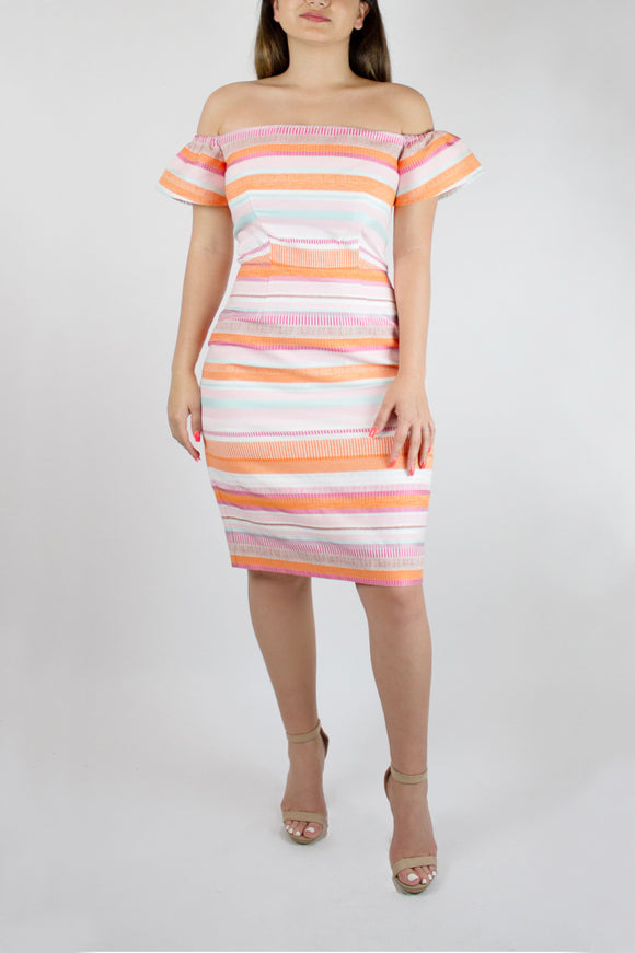 Color me Pretty Midi Dress
