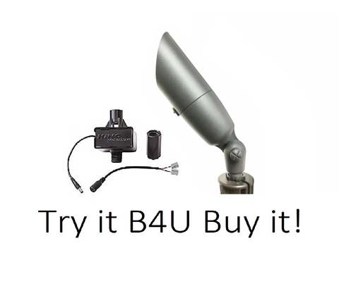 Try it B4U Buy it Fusion Light w/Insta Light - FX Luminaire Landscape Lighting