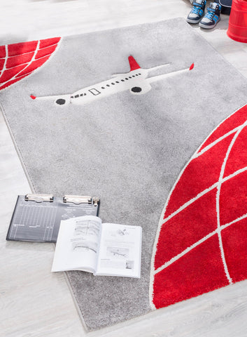 First Class Airplane Rug