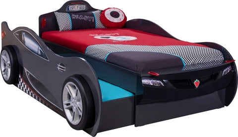 Coupe Carbed With Friend Bed (Anthracite)