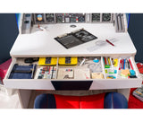 First Class Airplane Desk With Unit