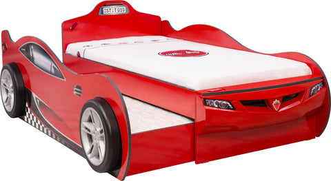 Coupe Carbed With Friend Bed (Red)