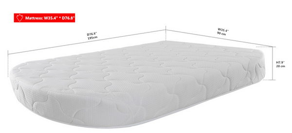 Oval Star Mattress