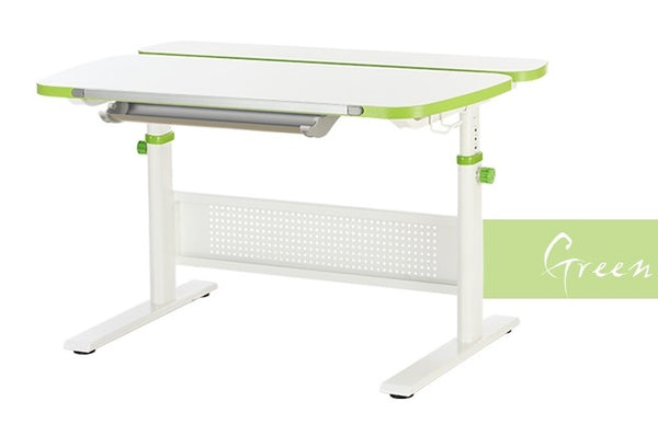K5 Unique Ergonomic Desk (Teawood | Green)