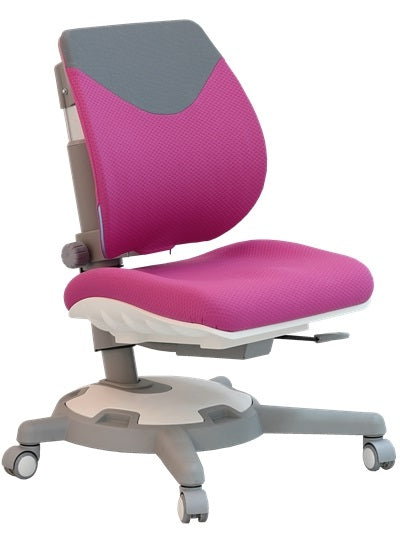 Y1018 Ultra Back Ergonomic Chair/Peach