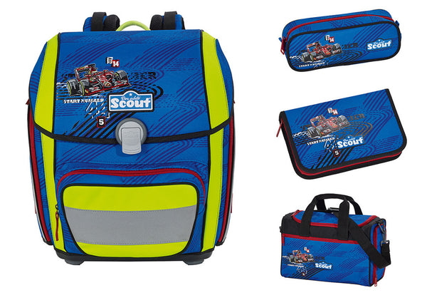 Scout Genius Backpack - Formel 1 (4 pcs set)