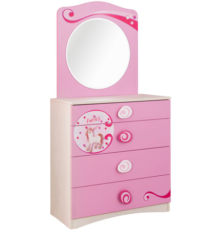 Sl Princess Dresser & Mirror