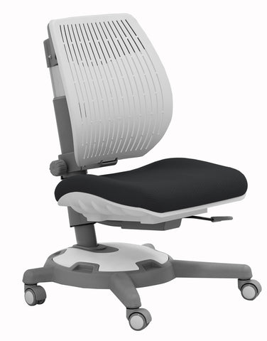 Y1018 Ultra Back Ergonomic Chair/Grey & White