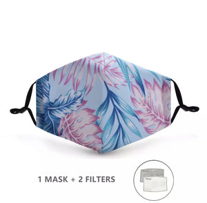 18 Colors - Stylish Reusable Face Mask with PM2.5 Filter - BASICALLY. By PinkGrasshopper