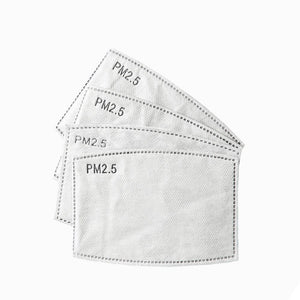 Face Mask Filters - 10 pack - BASICALLY. By PinkGrasshopper