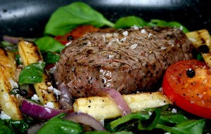 Beef contains zinc
