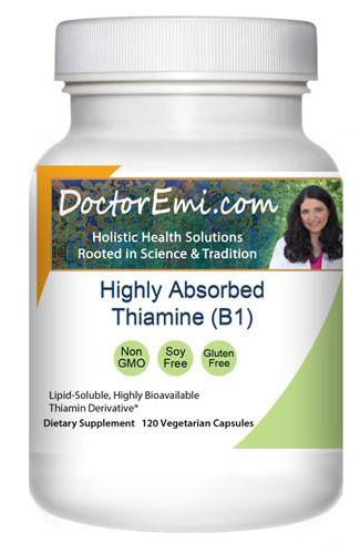 Highly Absorbed Thiamine