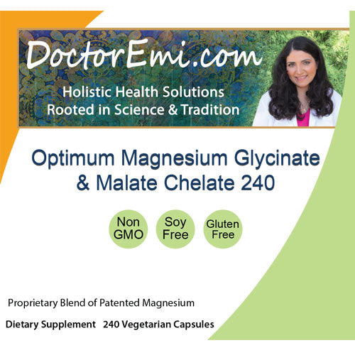 Optimum Magnesium Glycinate & Malate Chelate 240