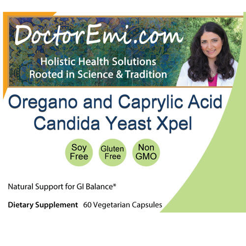 Oregano and Caprylic Acid Candida Yeast Xpel