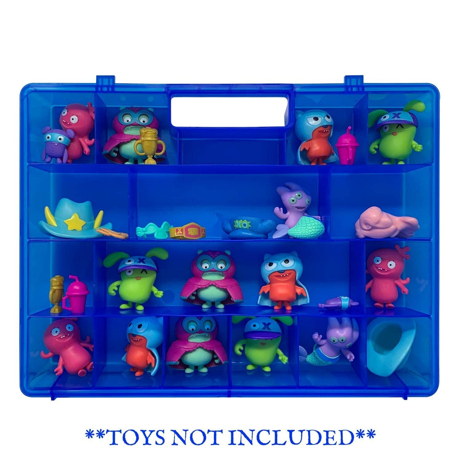 Life Made Better, Storage Case Play Box, Compatible with UglyDolls Figurines, Toy Travel Case for Kids, Toy Accessories for Children Created by LMB