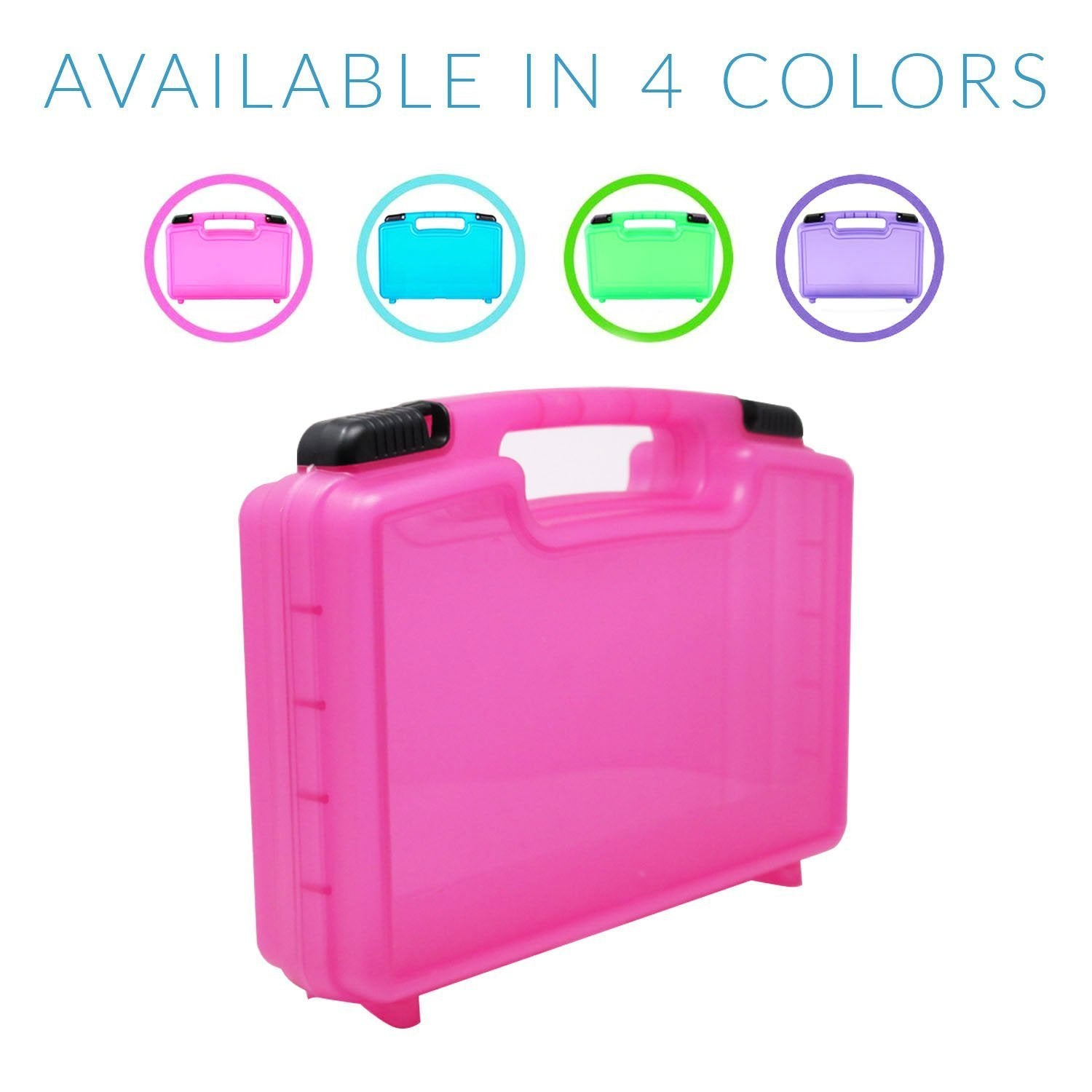 Figures... Life Made Better Little People Case Toy Storage Carrying Box