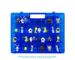 Life Made Better Slim, Display Carry-Along Case in a Fun Blue, Compatible with Secret Life of Pets Figures, Toys Accessory by LMB