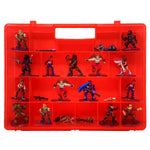 Life Made Better New Red Protective Toy Organizer, Storage Case Compatible with Fortnite Figures, Not Made by Fortnite