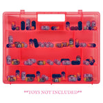 Life Made Better Pink Carrying Case Mini-Toy Figure Organizer, Compatible with Mighty Beanz. This Box is Not Created by Mighty Beanz