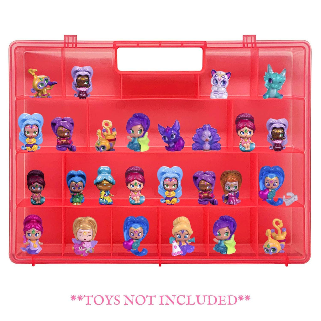 Life Made Better Durable, Long-Lasting Pink Toy Storage Case, Figures Organizer Compatible with Shimmer Shine Teenie Genies, Accessories Kids by LMB