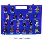Life Made Better Upgraded Case, Blue Heavy-Duty Protective Toy Figure Case, Compatible with Lego Dimensions Video Game Figures, not Made by Lego