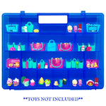 Life Made Better, Blue Protector Toy Holder & Storage Box, Compatible Carrying Case for Shopkins & Accessories, Created