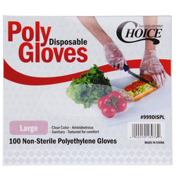 Disposable Poly Gloves for Food Service