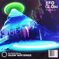 UFO Glow Tape Rings - Accessories - Disc 2 Basket Disc Golf Store