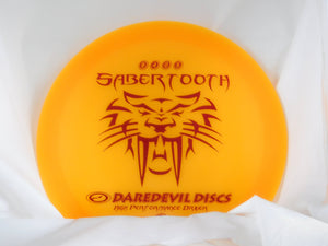 Daredevil Discs Sabertooth Fairway Driver - daredevil fairway driver - Disc 2 Basket Disc Golf Store