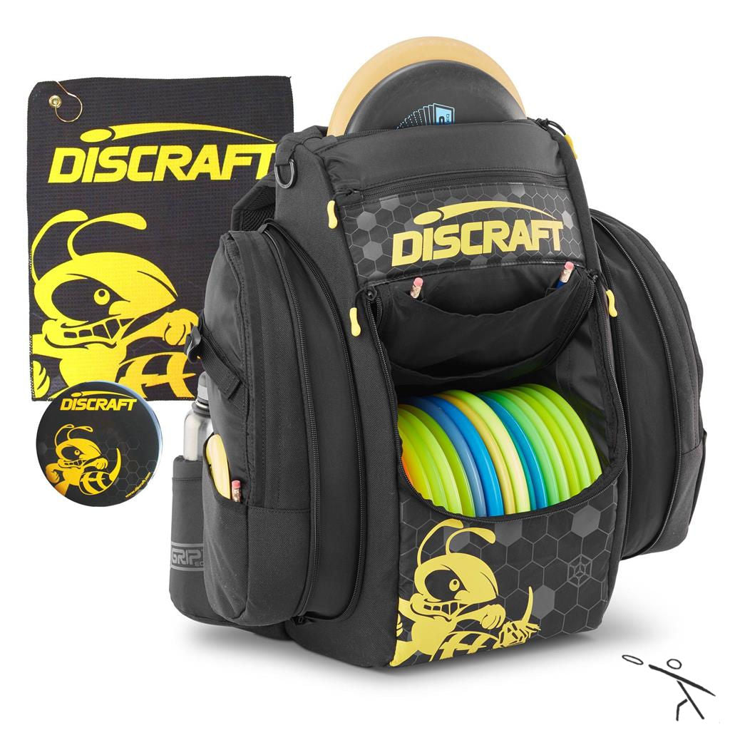 Grip EQ BX Buzzz Disc Golf Backpack - discraft bags - Disc 2 Basket Disc Golf Store