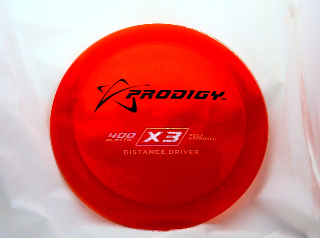 Prodigy X3 Distance Driver - Prodigy Distance Drivers - Disc 2 Basket Disc Golf Store