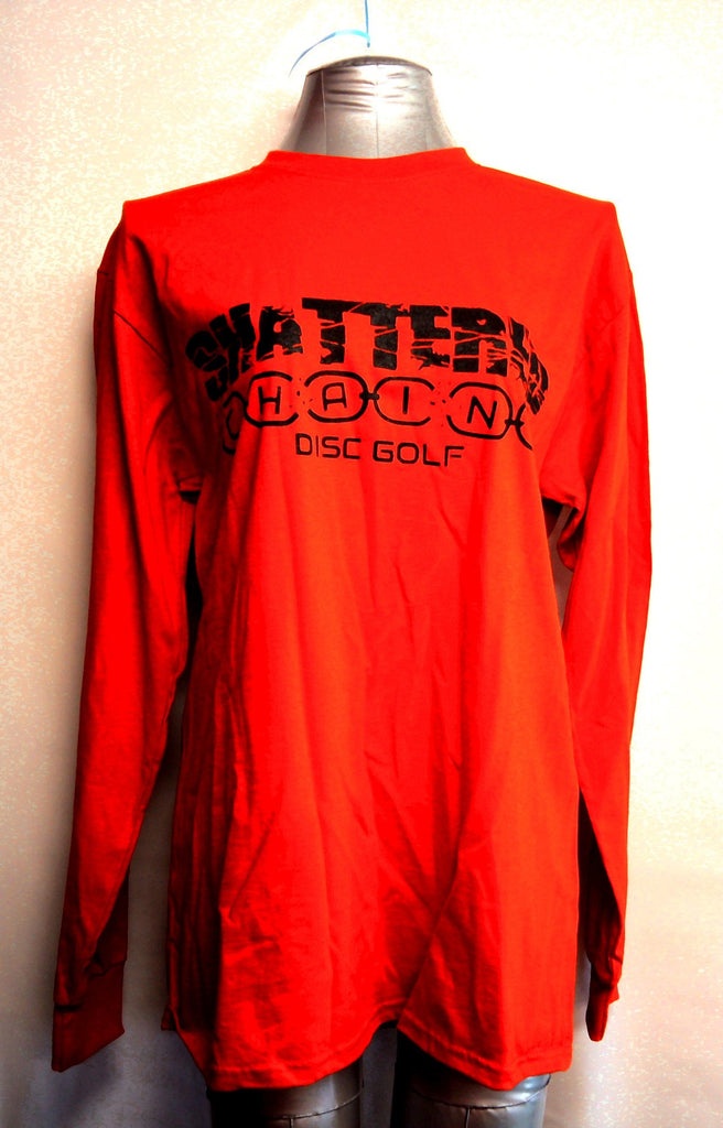 Shattered Chains Long Sleeve Shirt - Shattered Chains - Disc 2 Basket Disc Golf Store