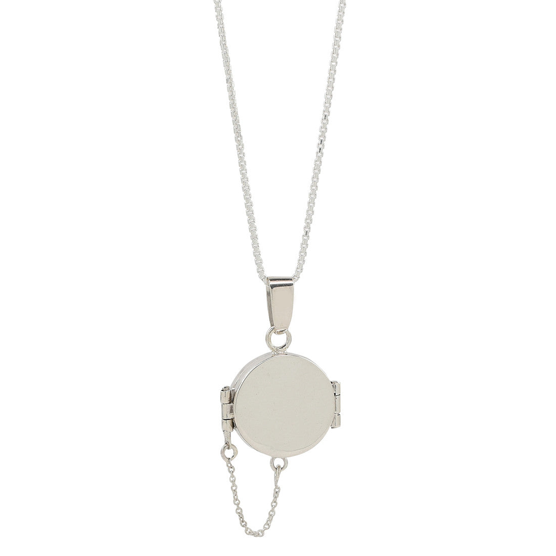 Round locket necklace - René Habie