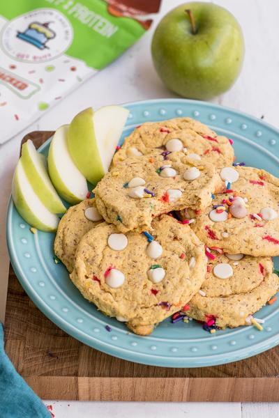 Lil Buff Caramel Apple Protein Cookies
