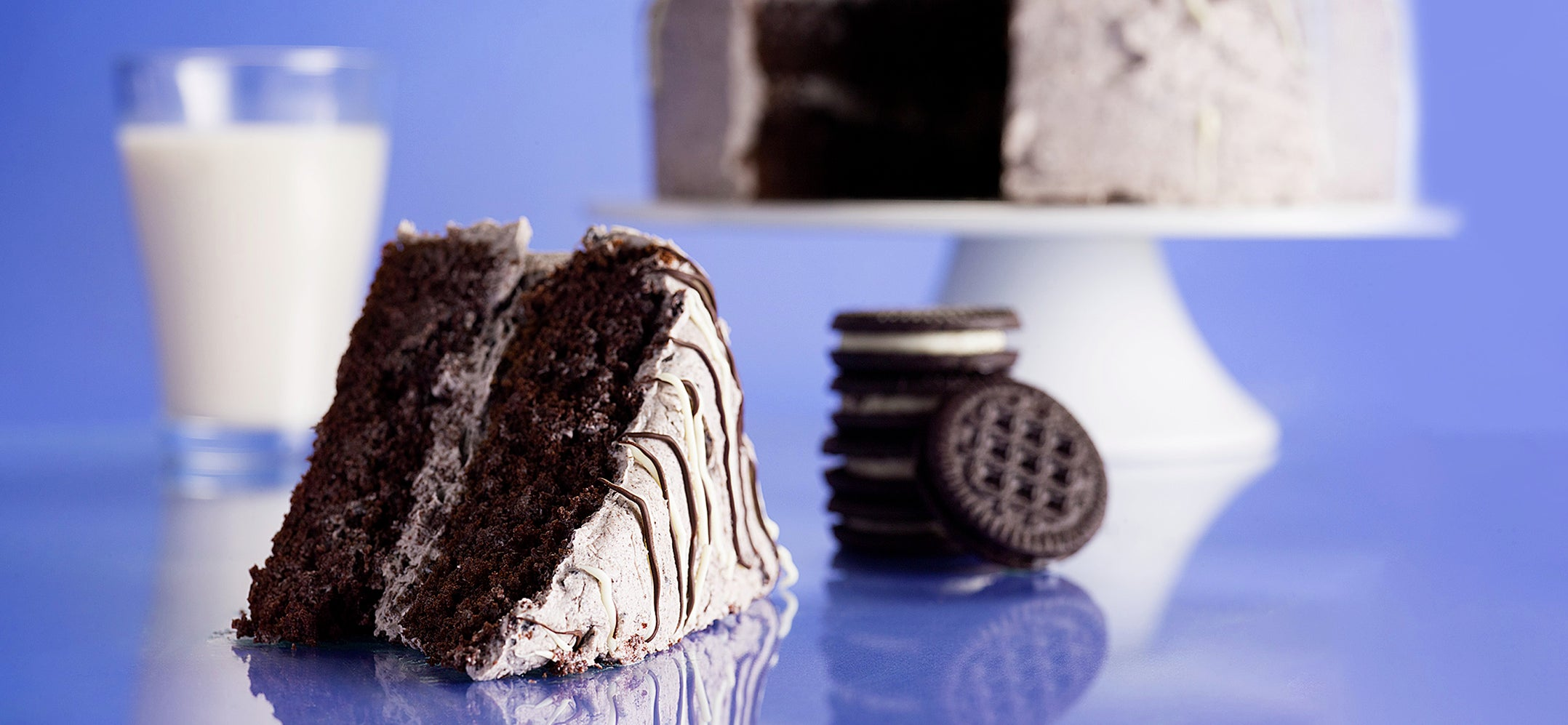 Quest Cookies & Cream Protein Cake