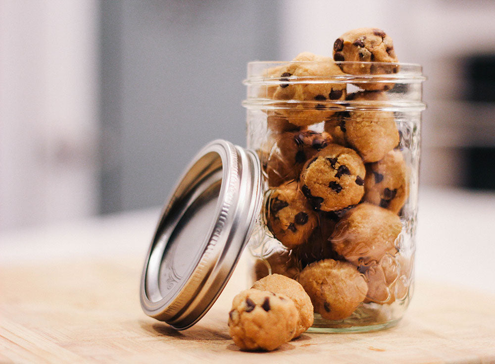 Vegan Cookie Dough Protein Balls