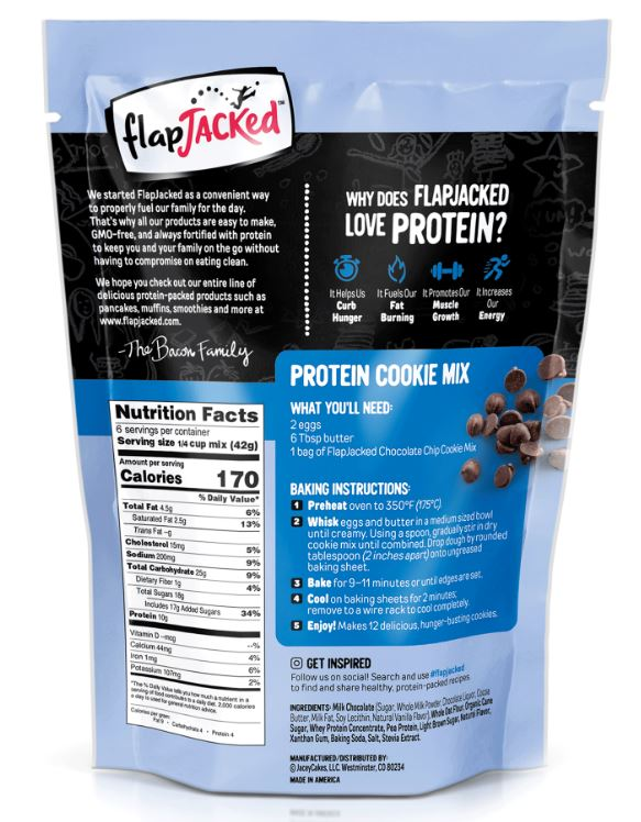 FlapJacked Protein Cookie and Baking Mix