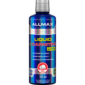 ALLMAX Liquid L-Carnitine (473 ML) - Top Nutrition and Fitness Canada
