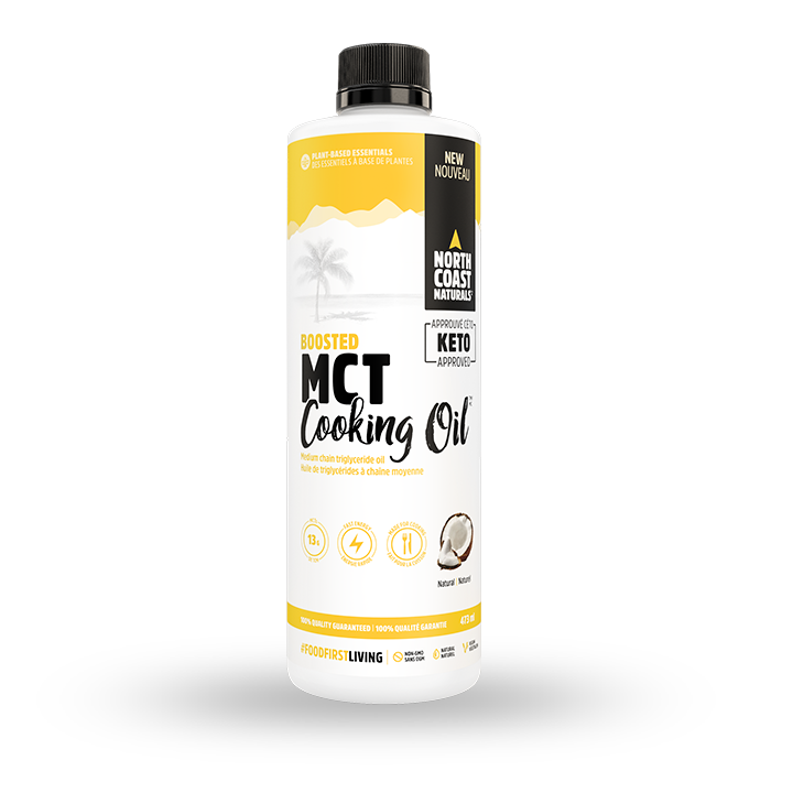 North Coast Naturals Boosted MCT Cooking Oil (473ml)