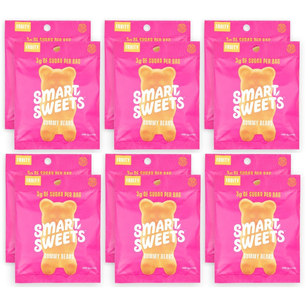 SmartSweets Low Sugar Gummy Bears (Box of 12)