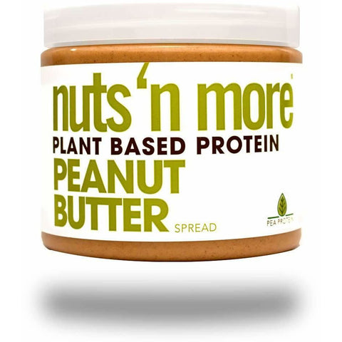 Nuts 'n More Plant Based Protein Peanut Butter Spread - VEGAN - Top Nutrition and Fitness Canada
