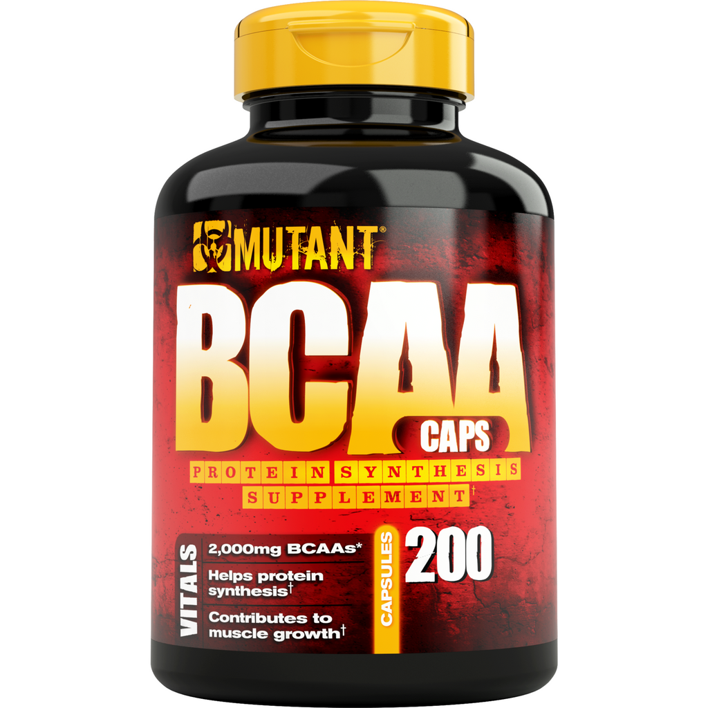 Mutant BCAA (200 capsules) - Top Nutrition and Fitness Canada