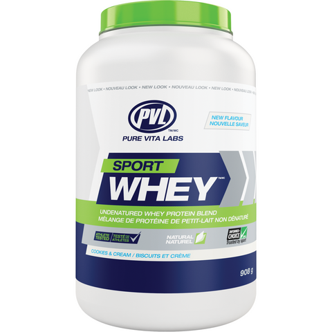 PVL Sport Whey (908g) - Top Nutrition and Fitness Canada