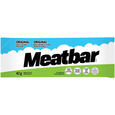 MeatBar Grass-Fed Beef Protein Bar (1 bar) - Top Nutrition and Fitness Canada