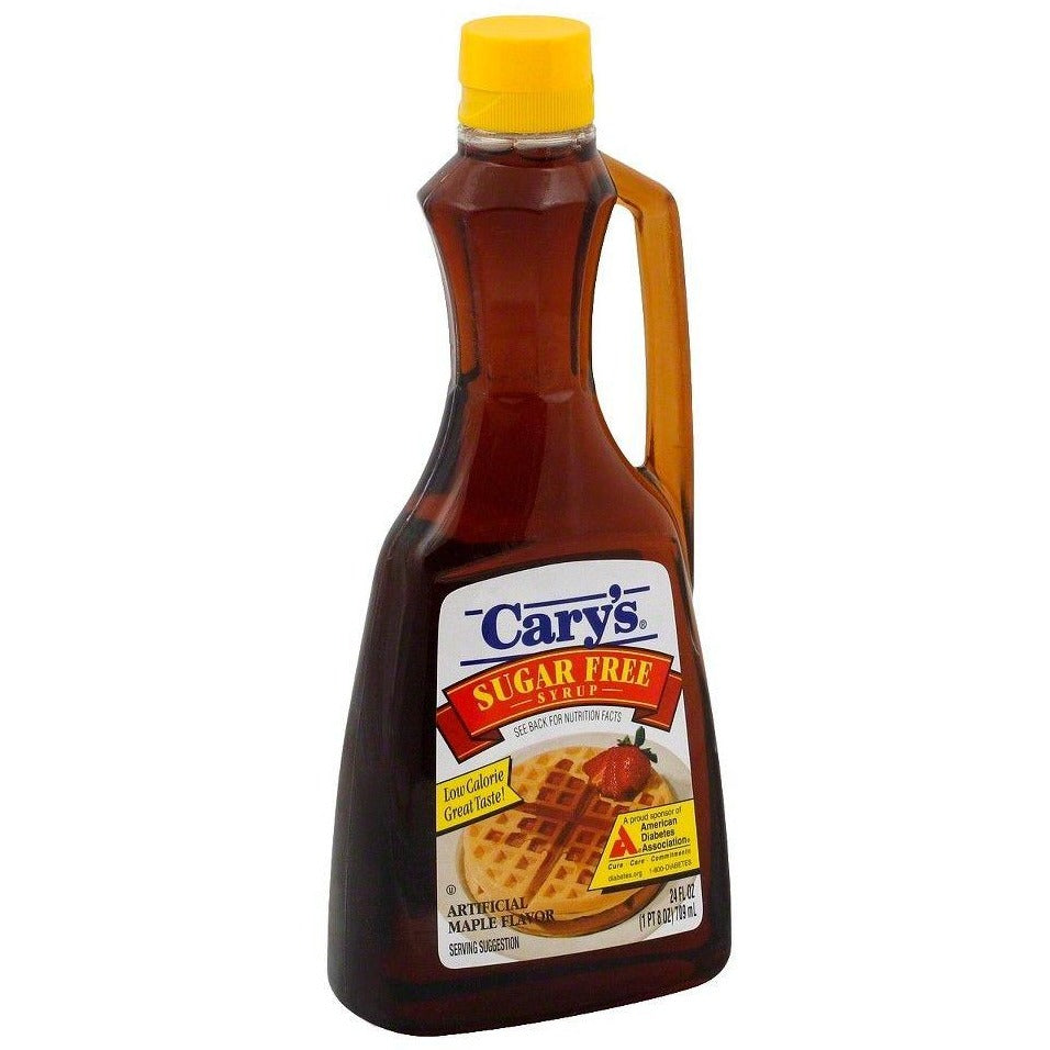 Cary's Sugar Free Maple Flavoured Syrup (24 oz.) - Top Nutrition and Fitness Canada