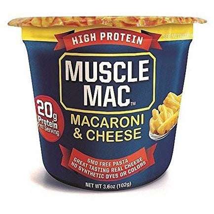 MuscleMac Protein Macaroni and Cheese Single Serve - Top Nutrition and Fitness Canada