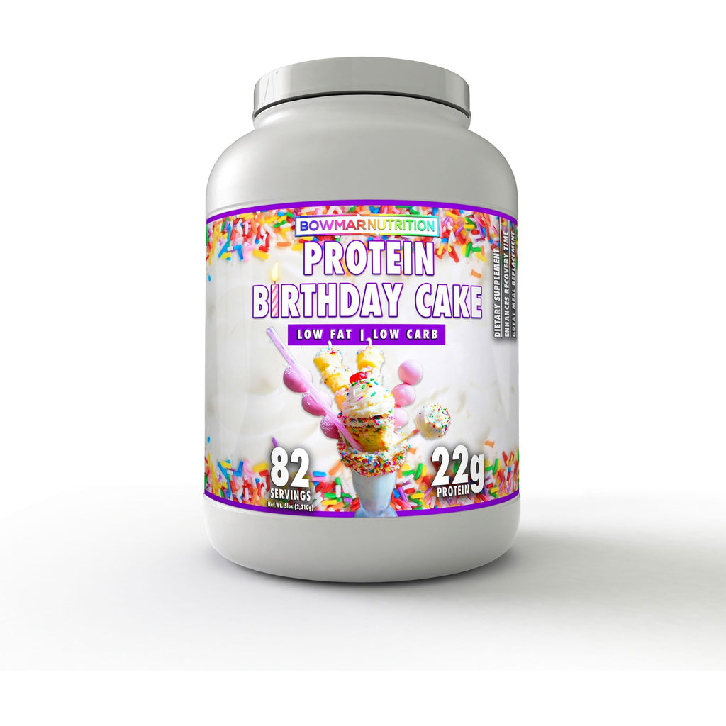 Bowmar Nutrition Protein Powder (5lbs/82 servings) ($1.30/serv) - Top Nutrition and Fitness Canada